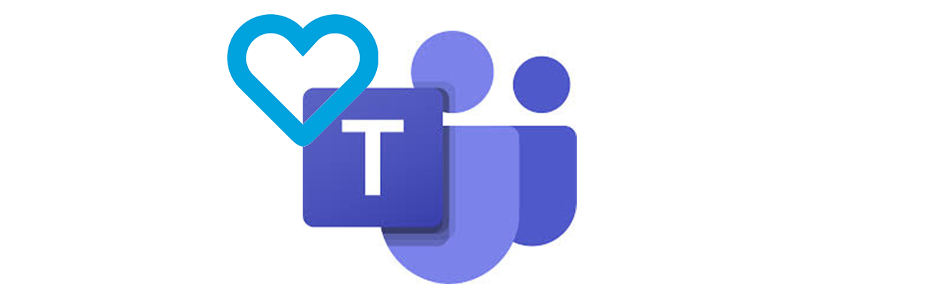 Das Bild zeigt das Microsoft Teams und Surface.Love Logo.